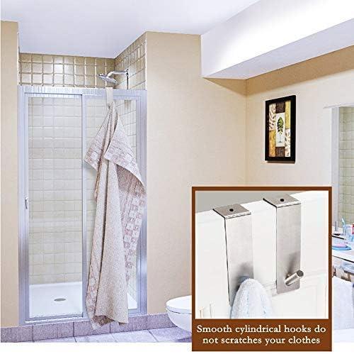 inodoro Hamosky Toallero de pieles para oficina Gancho de pared pegajoso cocina 4 piezas ganchos para toallas de Aeegulle ba/ño impermeable y resistente a la corrosi/ón
