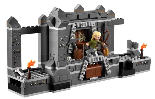 Amazon.com: LEGO Lord of the Rings LOTR Mines of Moria w/ Six Minifigures Cave Troll | 9473: Toys & Games