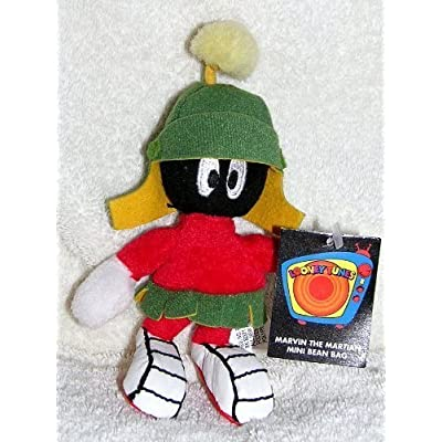 "Warner Bros Studio Store 6"" Plush Marvin the Martian Mini Bean Bag Doll: Toys & Games"