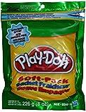 Play-doh-resealable -Soft Pack Green- W/ Shape Cutter