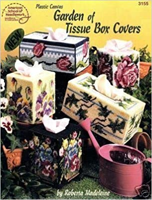 Book Plastic Canvas Garden of Tissue Box Covers (American School of Needlework #3155) by Roberta Madeleine (1995-05-03)