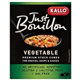 Kallo Just Bouillon Premium Vegetable Stock Cubes (6x11g)