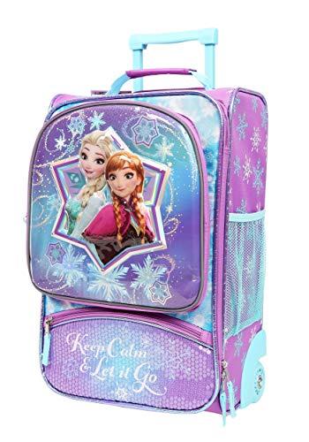 Disney Frozen Molded Pilot Case w/Super Light Standard (Disney Frozen Rolling Luggage)
