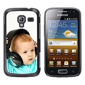 EJOY---Cubierta de la caja de protección la piel dura para el / Samsung Galaxy Ace 2 / --BABY & AURICULARES