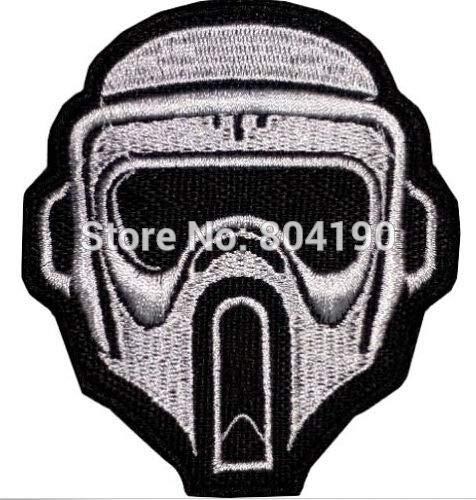 Scout Trooper Darth Vader Stormtrooper Clone Tv Movie Film Costume Embroidered Patches for Clothing Dress Garment]()