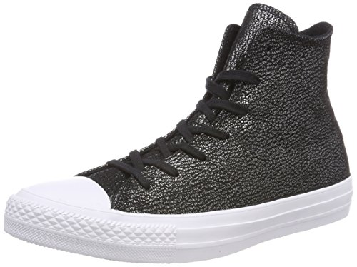 Black Baskets Mixte Black Converse Hi 001 Noir Black CTAS White Schwarz Black Silver Adulte Hautes BFEKEI8rwq