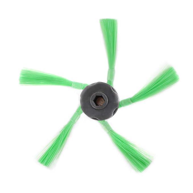 Tutmonda 4 piezas de repuesto cepillos laterales para limpiador ...