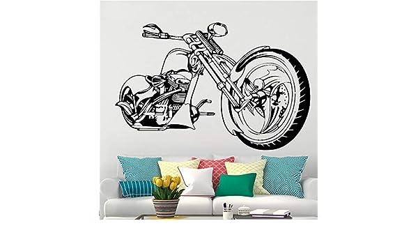 zxddzl Harley Cartel de la Etiqueta engomada del Arte de la Pared ...