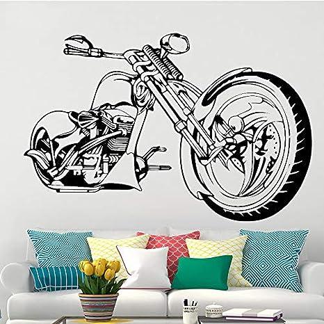 58x88cm motocicleta de Harley Wall Art Sticker cartel para salon ...