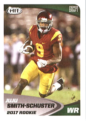 2017 Sage Hit Premier Draft #40 Juju Smith-Schuster WR Football (Smith Football Card)