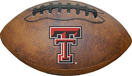 Game Master NCAA Texas Tech Red Raiders Color Logo Mini Football, 9-Inches