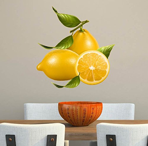 Lemons Fruits Healthy Eating Large Kitchen Restaurant Wall Decal - 18