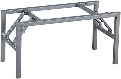 JWZQ Soporte de pata de mesa, plegable, estructura de pata de ...