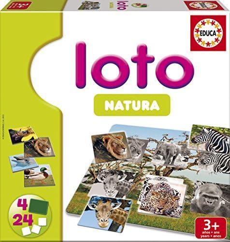 Educa Juegos - Loto Natura, Juego de Mesa (15880): Amazon.es: Juguetes y juegos