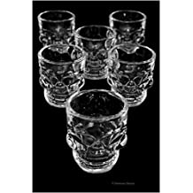 Skull Shot Glasses – Set of 6, 1.7oz