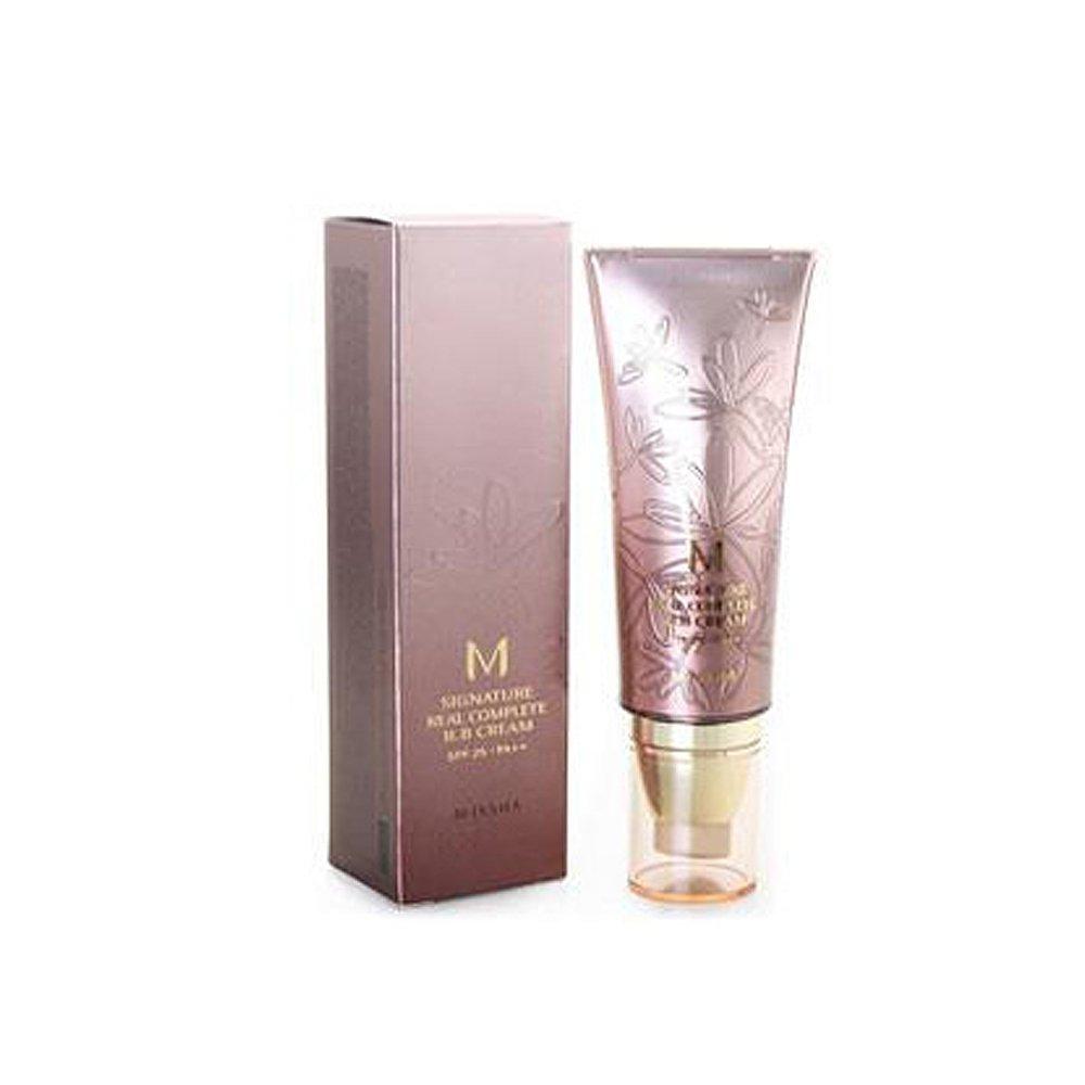 missha M Signature Real Complete BB Cream Spf25/PA + + (No. 21/Light Pink Beige) 45G, 1er Pack LH Brands Germany