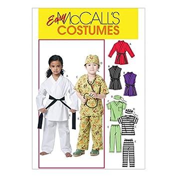 McCall \'s Schnittmuster 6184 Kinder Kostüme Größen: 6–122: Amazon.de ...
