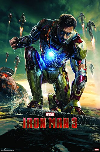 Trends International Iron Man 3 One Sheet Wall Poster 22.375