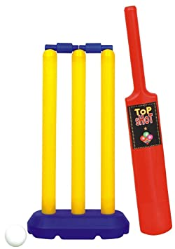 K&F Mini Cricket Set for Kids for 2-5 Years -Multicolour