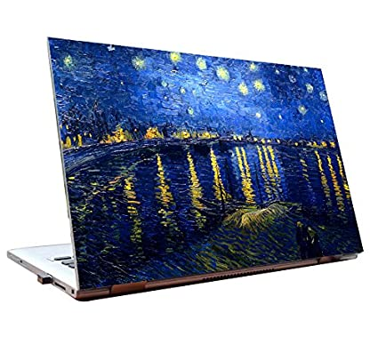 Tamatina Laptop Skins 14 Inch The Starry Night Van Gogh Hd