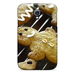 Durable Case For The Galaxy S4- Eco-friendly Retail Packaging(gingerbread)