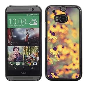 For HTC One ( M8 ) Case , Soleil - Diseño Patrón Teléfono Caso Cubierta Case Bumper Duro Protección Case Cover Funda