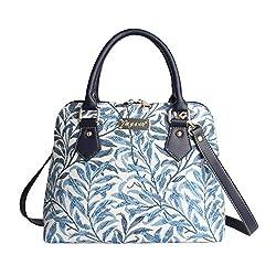 bf7bf1c0ad Signare Borsa spalla convertibile in tessuto stile arazzo alla moda William  Morris Ramo di salice
