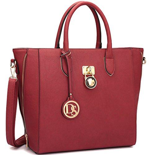 Extra Large Leather Bag - 5