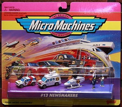 Micro Machines Newsmakers #13 Collection