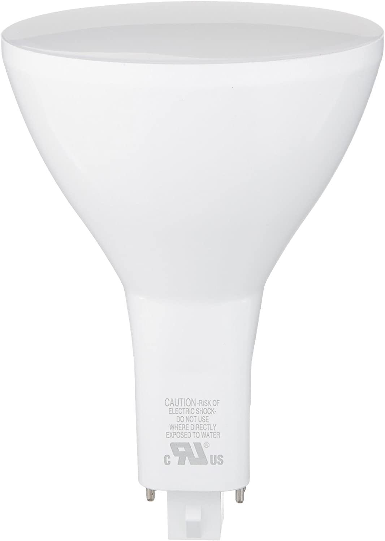 GE 96771 LED12G24Q-V/840 12W 120V Non-Dimmable LED Vertical Plug-in 4000K G24-Q