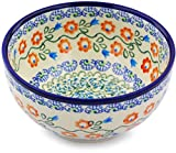 Product review for Polish Pottery Bowl 5-inch (Tulip Vines Theme)