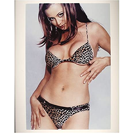 dbe6b81d2f2 SEXY Catherine Bell in Tiny Leopard Print Bra and Panty Set 8 x 10 Photo at  Amazon s Entertainment Collectibles Store