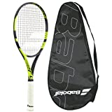 Babolat 2016-2018 Pure Aero Team - Strung with Ccover - Tennis Racquet