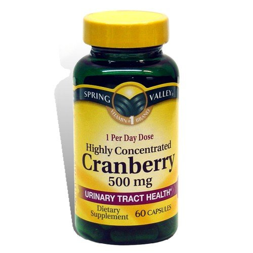 Spring Valley Super canneberges 500mg 60 Capsules