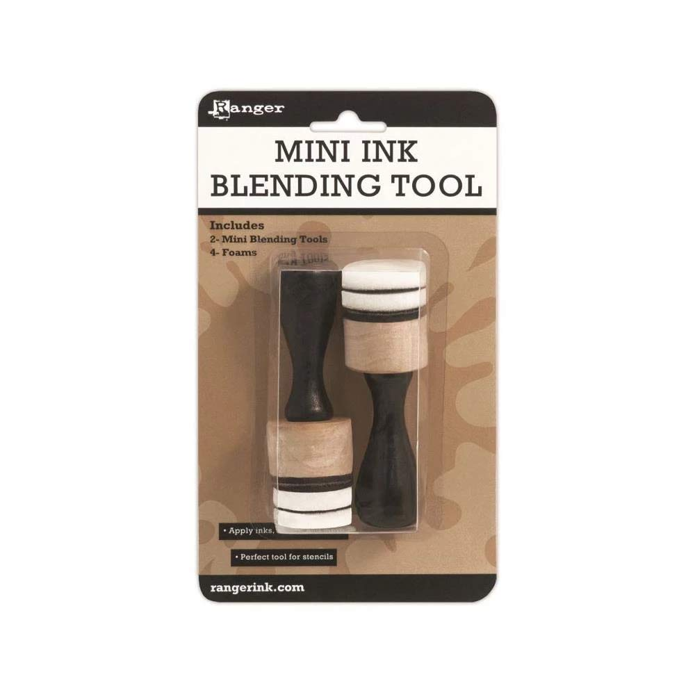 Mini Ink Blending SET of 2 Tools and 4 Foams