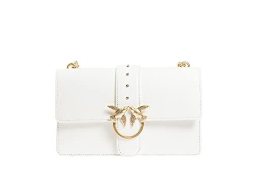 PINKO BORSA LOVE SIMPLY 3-1P2162-Z04-BIANCO  Amazon.it  Scarpe e borse a4e3c488465