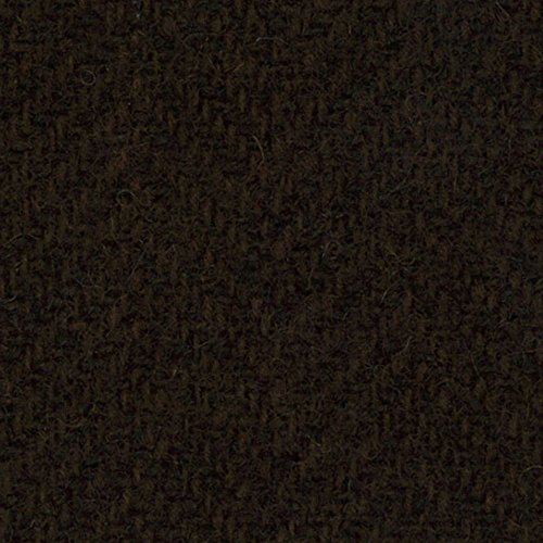 Primitive Gatherings Hand Dyed Wool Chocolate Herringbone 15 inch x 25 inch Cut Piece Moda PRI 5089 (Dyed Wool Hand Fabric)