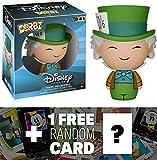 Mad Hatter: Funko Dorbz x Disney Alice in Wonderland Mini Vinyl Figure + 1 FREE Classic Disney Trading Card Bundle [59965]