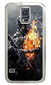Samsung Galaxy S5 Skull Warrior PC Custom Samsung Galaxy S5 Case Cover Transparent