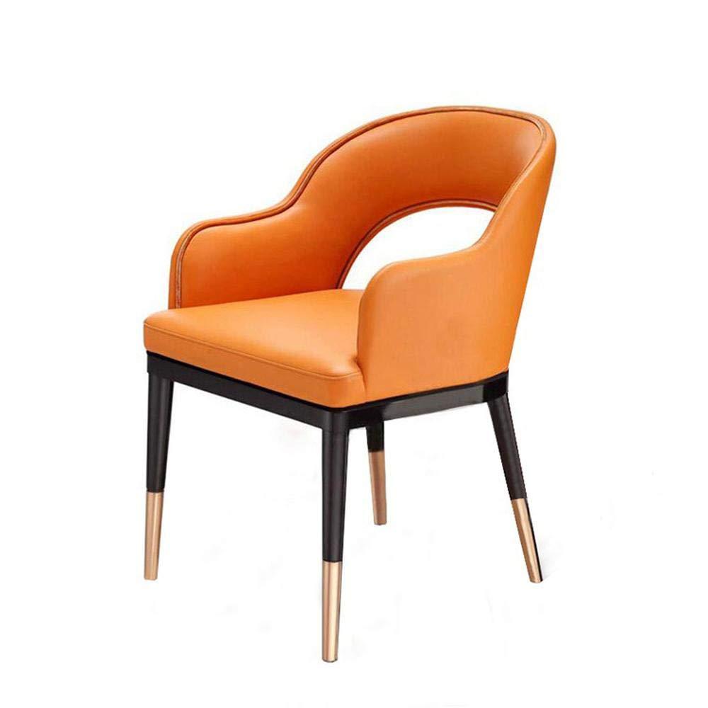 Amazon.com: Moderna silla de comedor de lujo con calado de ...
