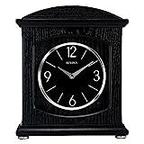 Bulova Glendale Mantel Clock, Black