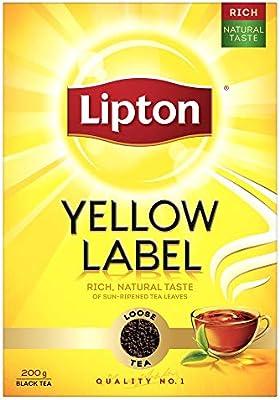 شاي ليبتون الصفراء، 200×48 غرام: Amazon.ae