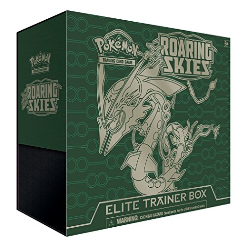 (Pokemon TCG: XY-Roaring Skies Elite Trainer Box Card Game)