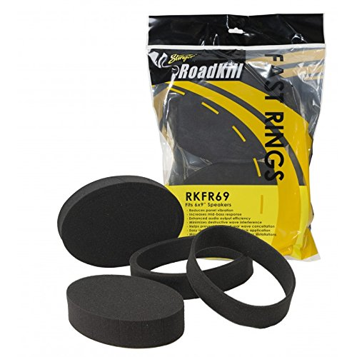 Road Kill RKFR69 3 Piece Foam Speaker Enhancer System Kit for 6