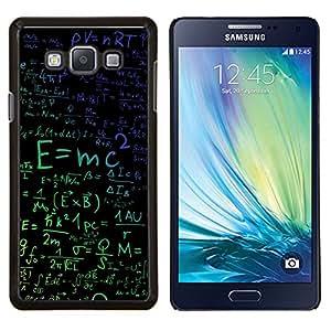 Stuss Case / Funda Carcasa protectora - E = mc2 Física - Samsung Galaxy A7 A7000