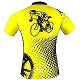 Aogda Cycling Jersey Men Bike Shirts Breathable Short...