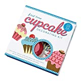 First Time Cupcake Decorating Kit: Includes Tools for Decorating Cupcakes with Piped Buttercream Designs