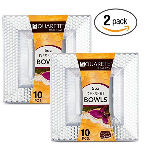 2 Square Bowls - 6