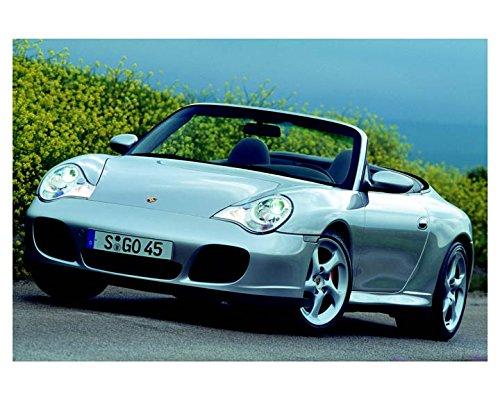 2004 Porsche 911 996 Carrera 4S Cabriolet Automobile Photo Poster from AutoLit