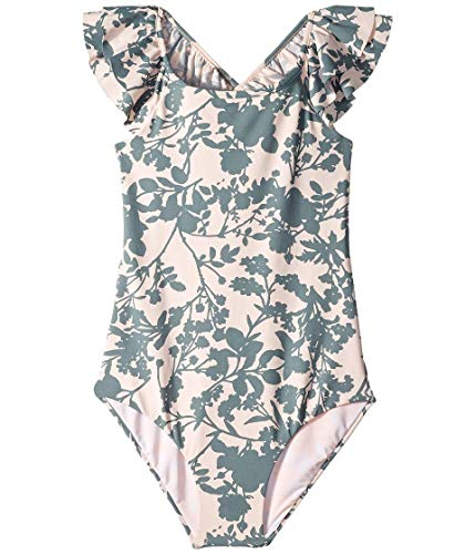 Maaji Girls' Little Ruffle Trim One Piece Swimsuit